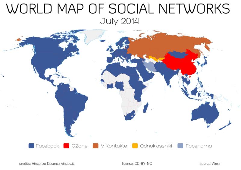 Il 2014 nei social media secondo Vincos