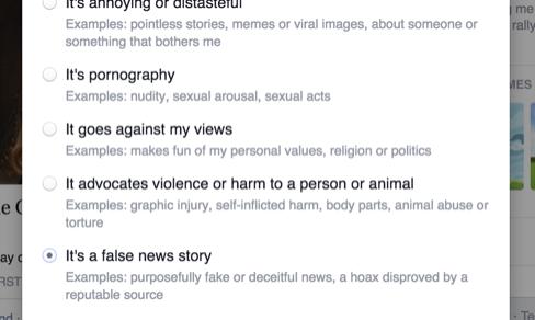 Facebook lancia lo strumento anti-bufale