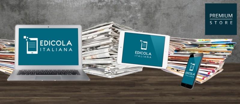 EdicolaItaliana, (tutti) i quotidiani su smartphone e pc